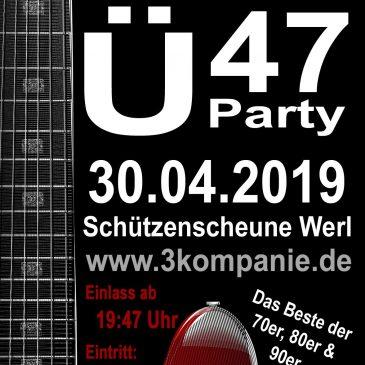 Ü47 Party – der etwas andere Tanz in den Mai