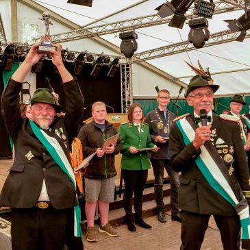 Siegerehrung Schützenfestpokal