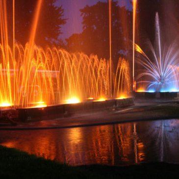 Wasserspiele im Kurgarten