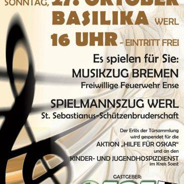 Jubiläumskonzert in der Basilika Werl